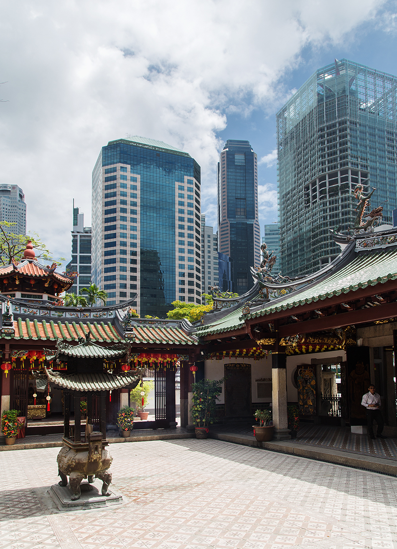 Singapore, Fabian Fröhlich, Thian Hock Keng Temple