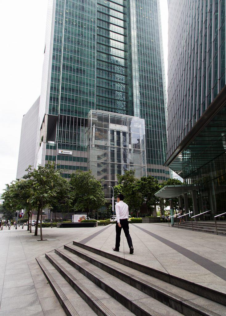 Fabian Fröhlich, Singapore, Financial District