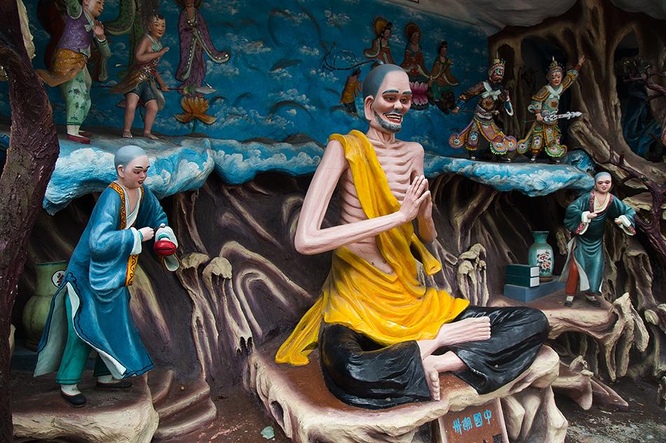 Fabian Fröhlich, Singapore. Haw par Villa, Buddha Ji Gong