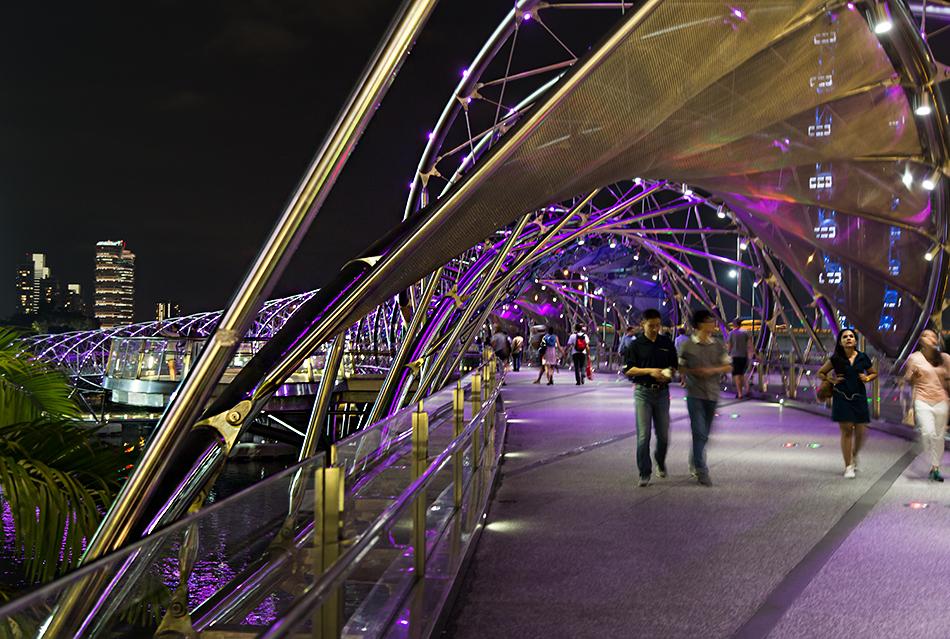 Fabian Fröhlich, Singapore, Helix Bridge