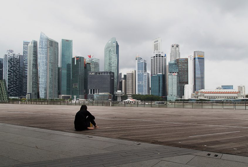 Fabian Fröhlich, Singapore, Marina Bay Sands, Waterfront