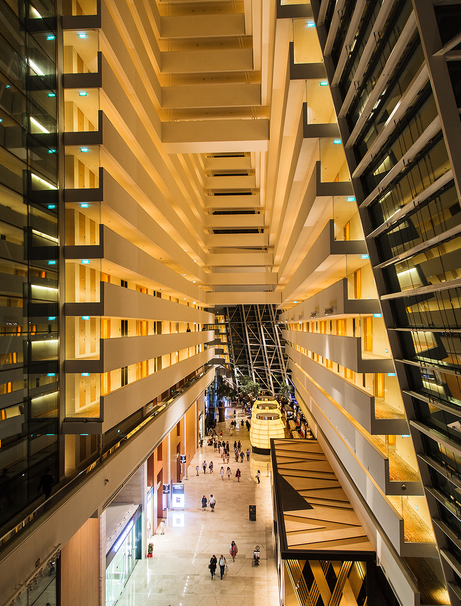 Fabian Fröhlich, Singapore, Marina Bay Sands, Hotel Lobby