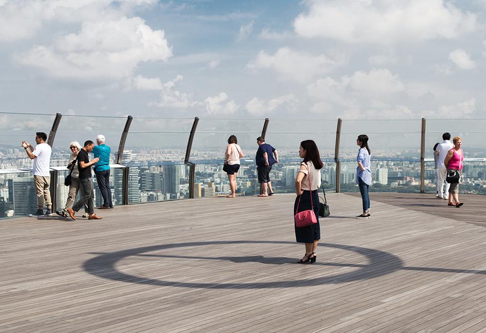 Fabian Fröhlich, Singapore, Marina Bay sands, SkyPark Observation Deck