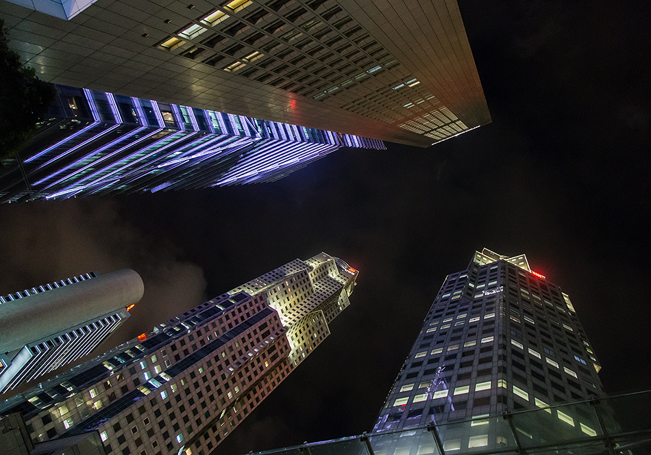 Fabian Fröhlich, Singapore, Raffles Place