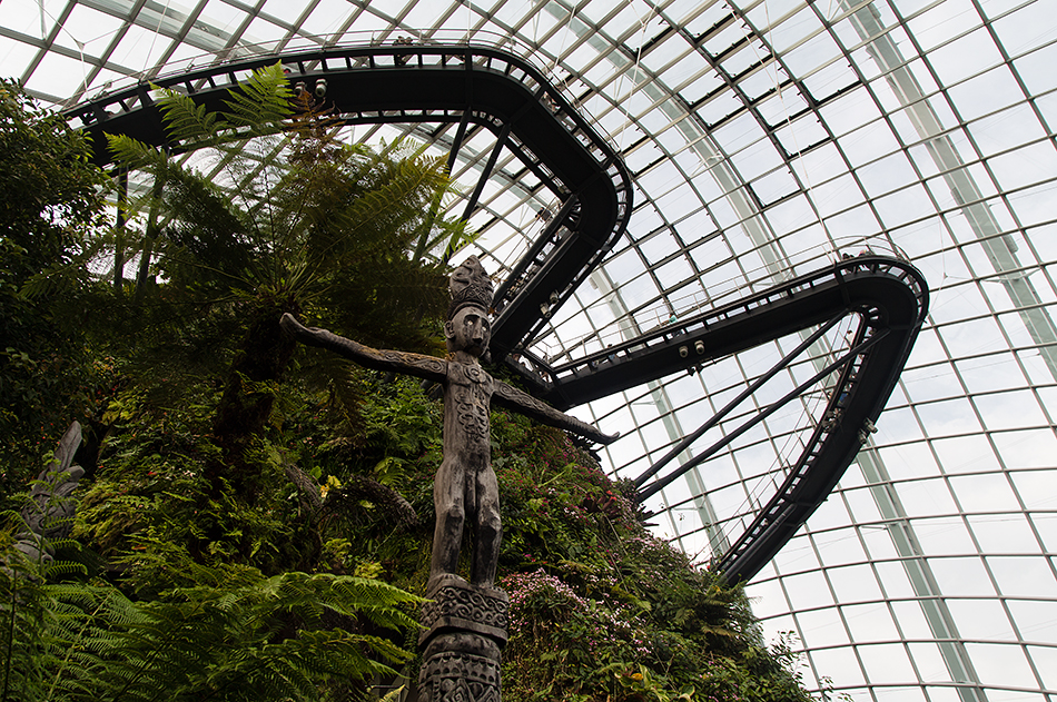 Fabian Fröhlich, Singapore, Gardens by the Bay, Totem Sculpture, Cloud Forest