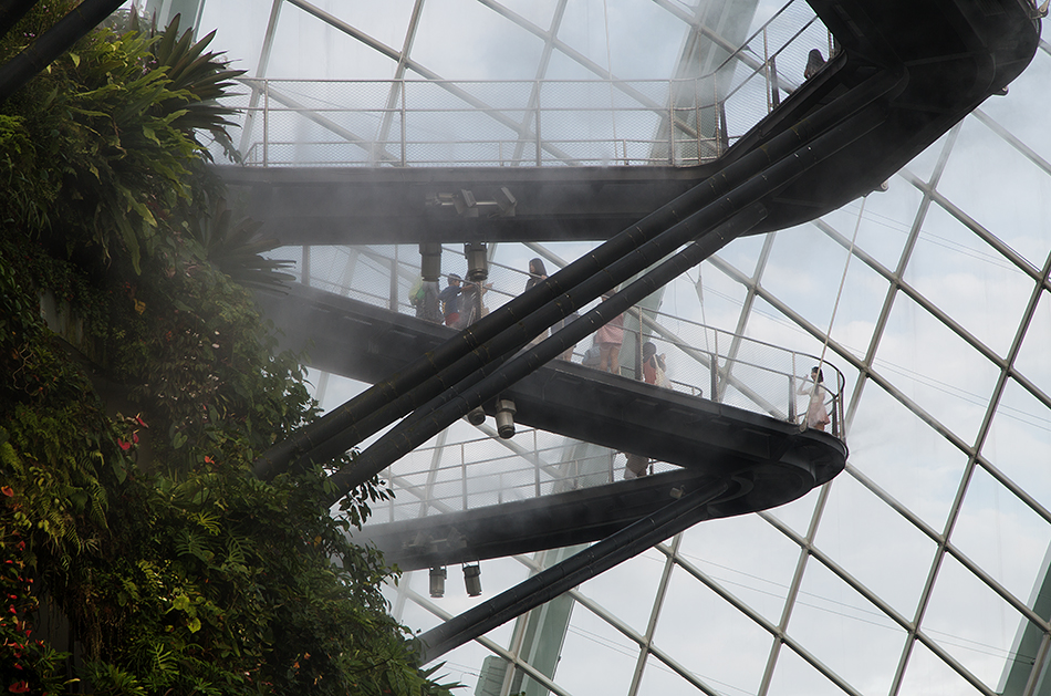 Fabian Fröhlich, Singapore, Gardens by the Bay, Skywalk in the Cloud Forest
