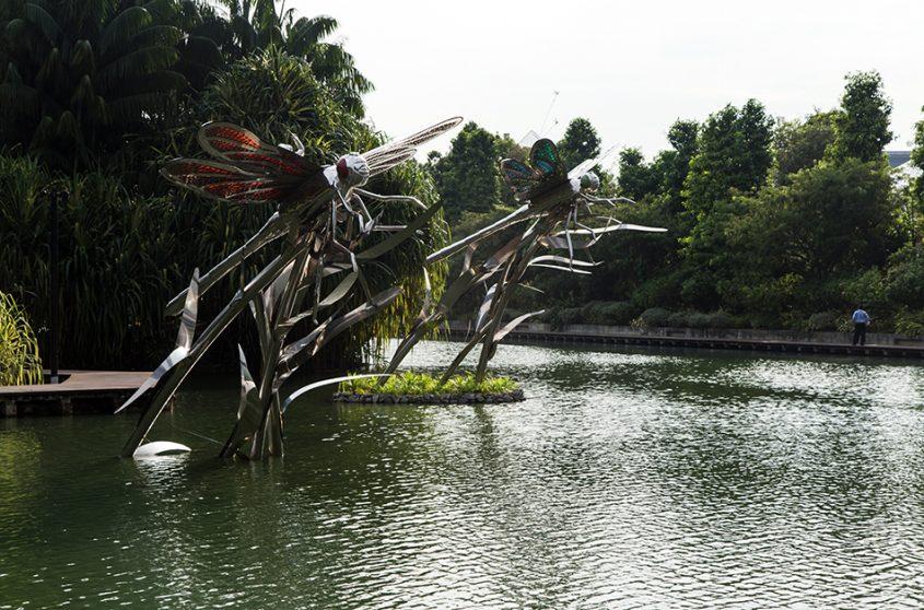 Fabian Fröhlich, Singapore, Gardens by the Bay, Dragonfly Lake