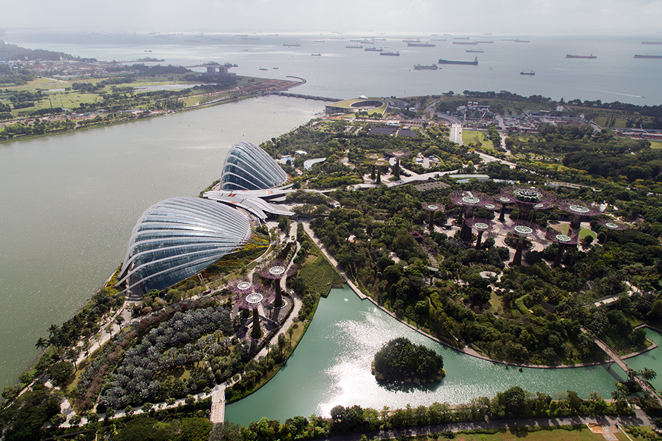 Fabian Fröhlich, Singapore, Gardens by the Bay,  Panorama