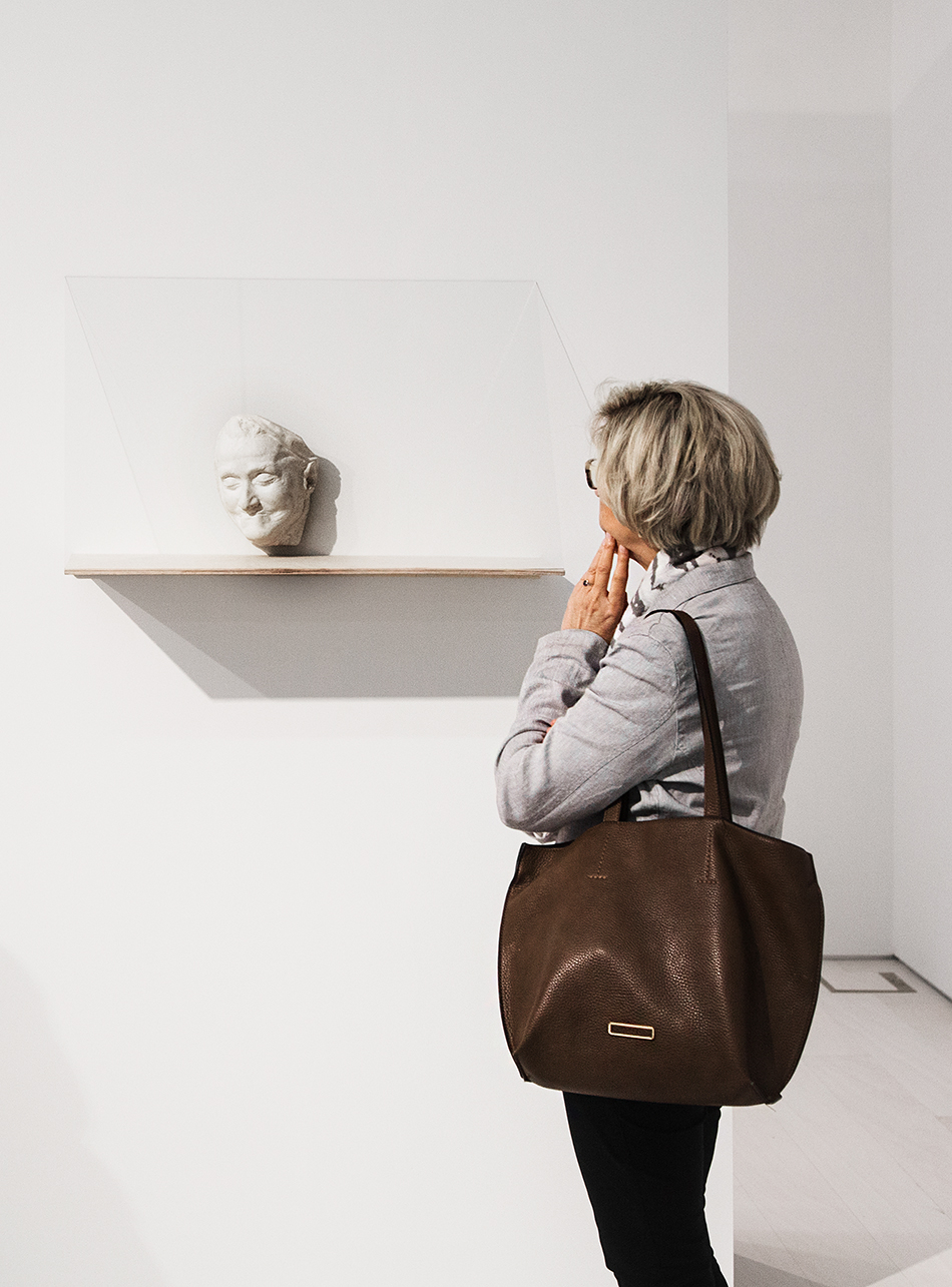 Totenmaske Else Lasker-Schüler, Yael Davids, EMST, documenta 14, Athen, Fabian Fröhlich