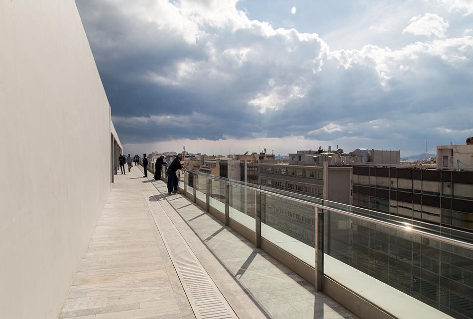 Rooftop Terrace , EMST, Athen, Fabian Fröhlich