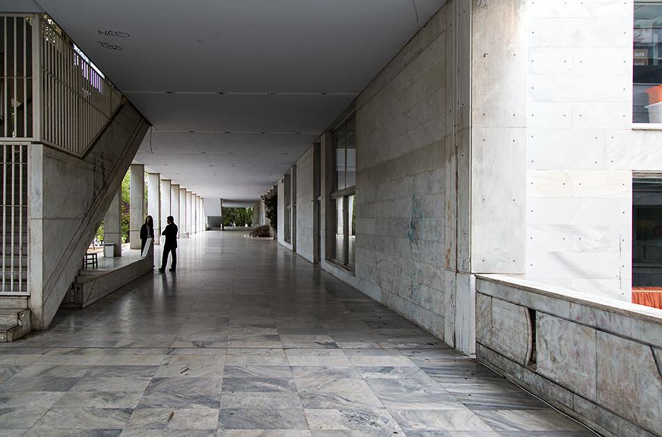 documenta 14, Athens, Odeion, Terrace, Fabian Fröhlich