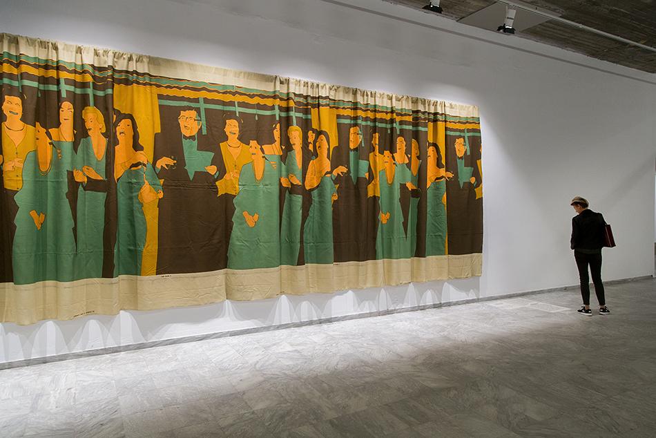 documenta 14, Athens, Odeion, Fabian Fröhlich, Beatritz Gonzáles, Decoracián de interiores