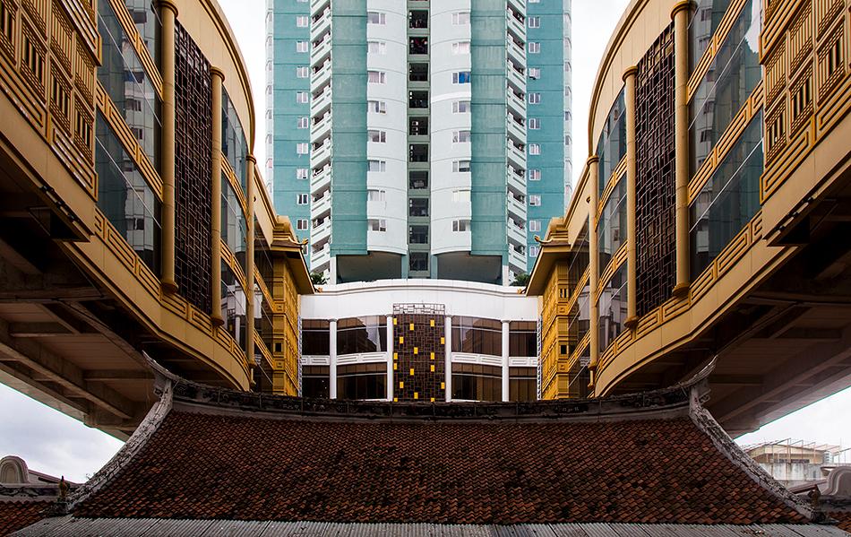 Fabian Fröhlich, Jakarta, Candra Naya and Green Central City
