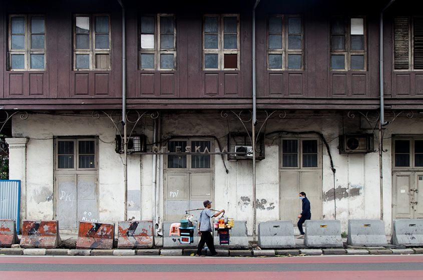 Fabian Fröhlich, Jakarta, Street in Kota