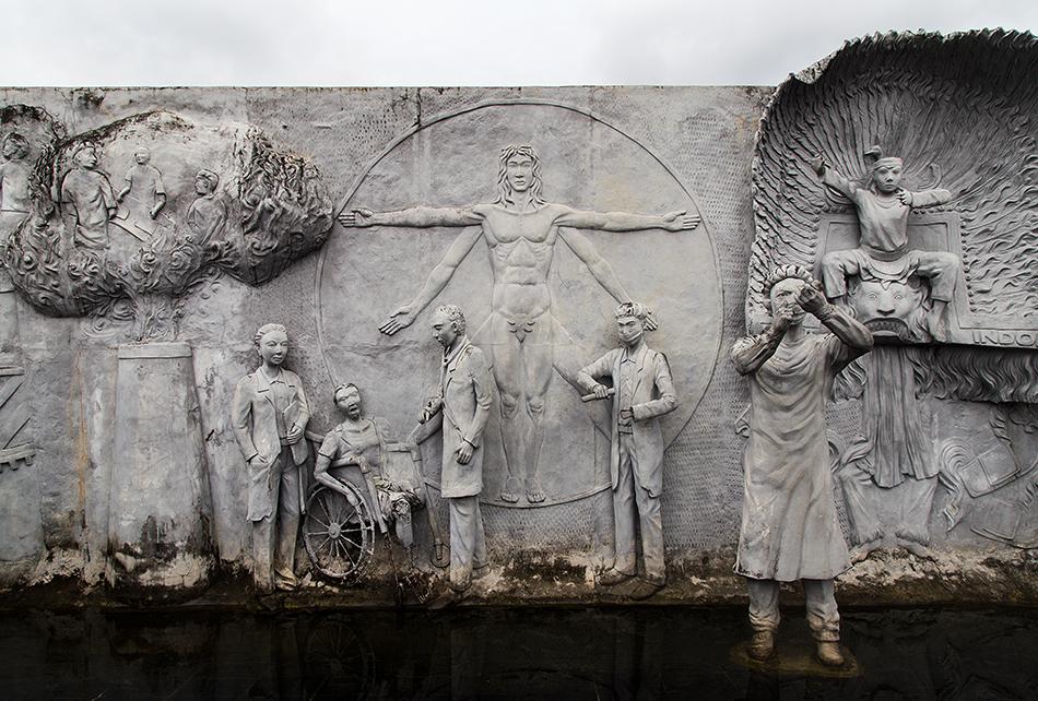 Fabian Fröhlich, Jakarta, Monas, Reliefs of Indonesian History