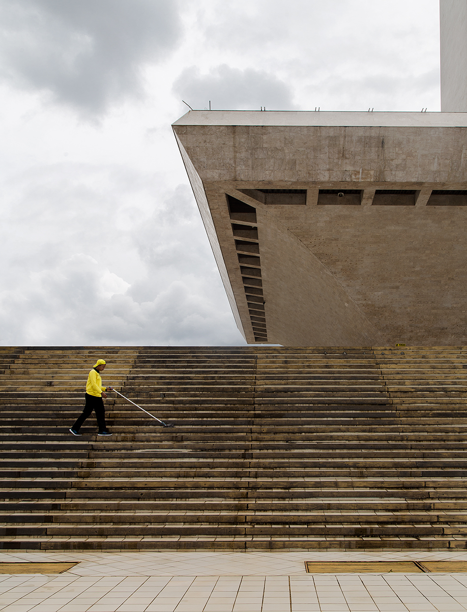 Fabian Fröhlich, Jakarta, Monumen Nasional
