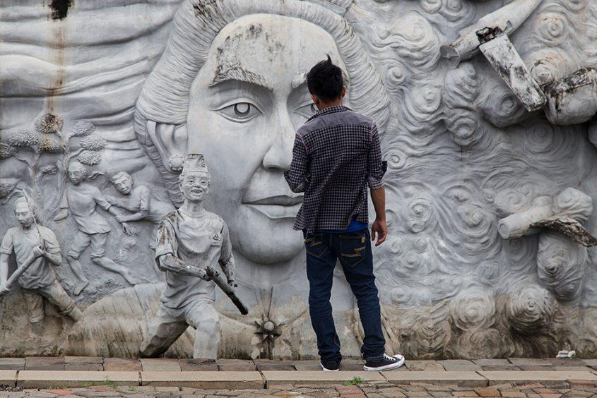 Fabian Fröhlich, Jakarta, Reliefs of Indonesian History, Monas