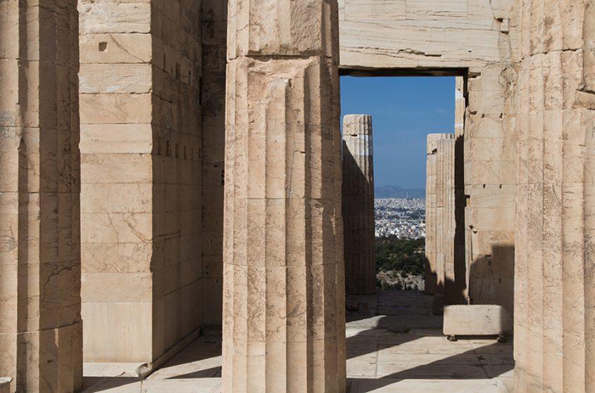 Athen, Akropolis, Propyläen, Fabian Fröhlich