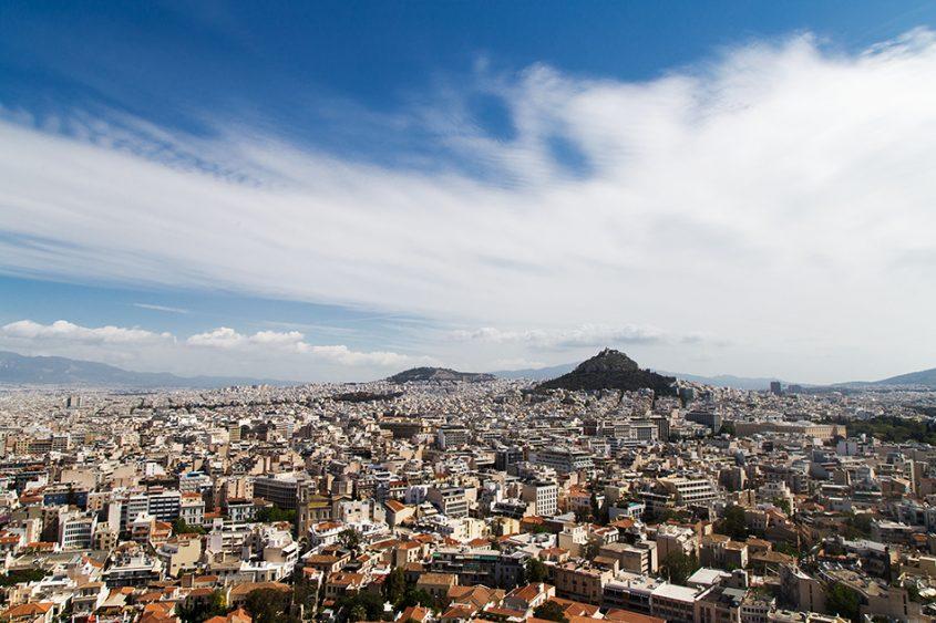 Athen, Blick von der Akropolis zum Lycabettus, Fabian Fröhlich