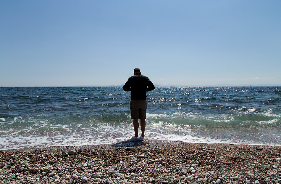 Athens, Beach near Alimos