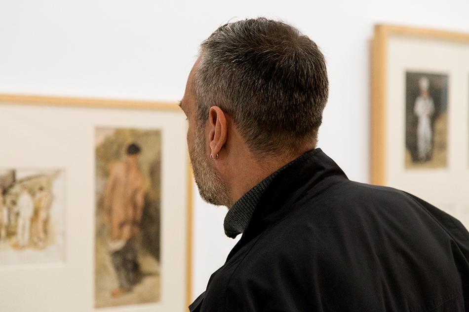 Yannis Tsarouchis, Installation view, documenta 14, Athen, Fabian Fröhlich
