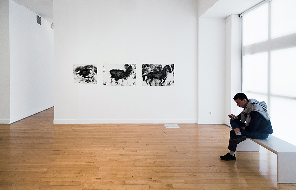 Miriam Cahn, Installation view (Benaki Museum - Pireos Street Annexe) documenta 14, Athen, Fabian Fröhlich