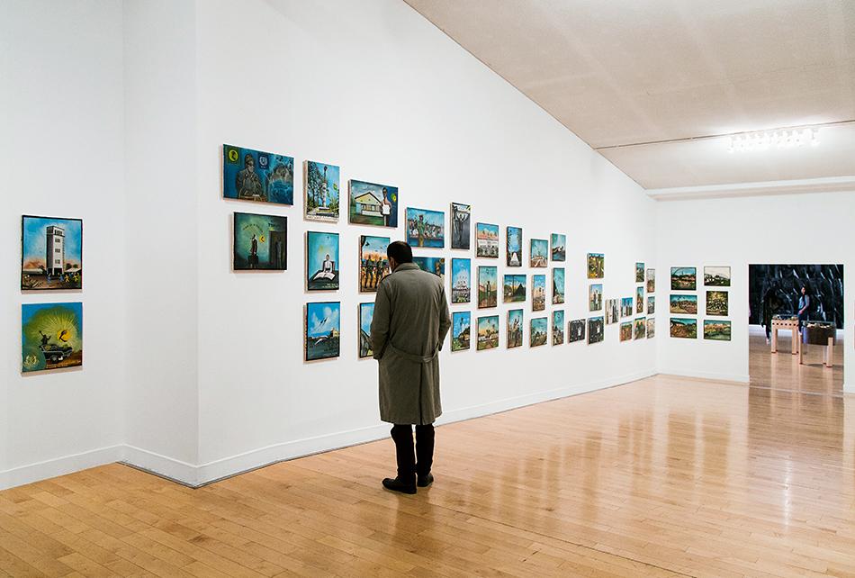 Tshibumba Kandu Matulu, 101 Works (Benaki Museum - Pireos Street Annexe), documenta 14, Athen, Fabian Fröhlich