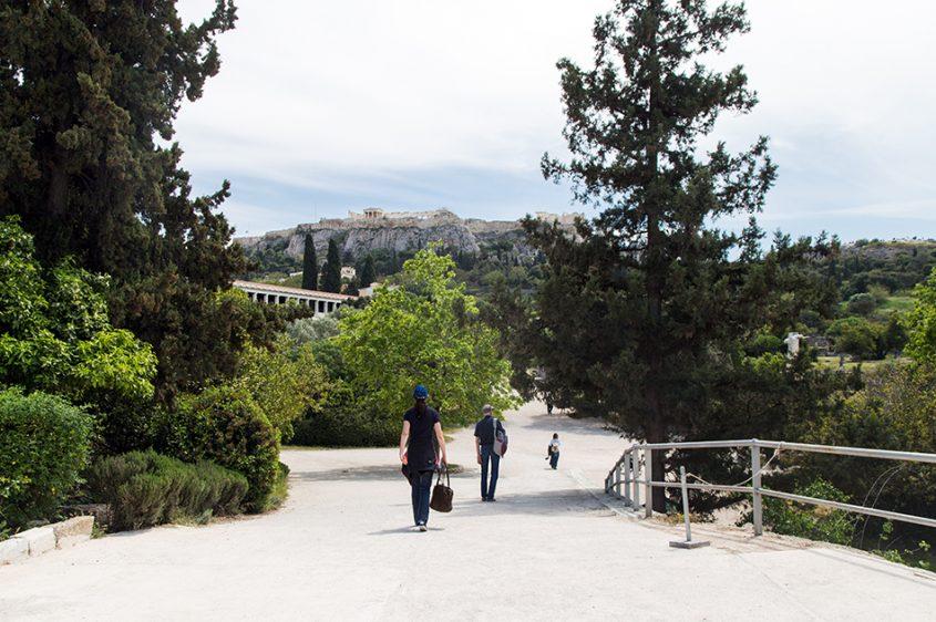 Athen, Agora, Fabian Fröhlich