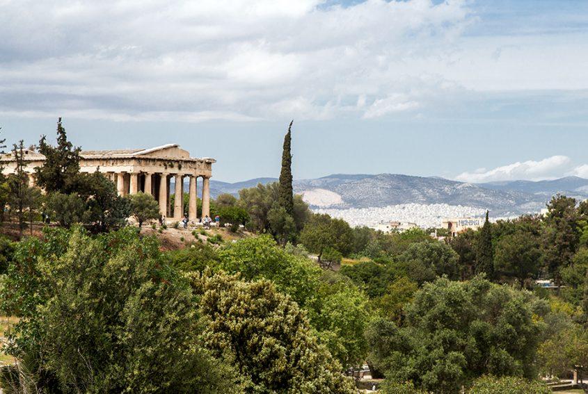 Athen, Tempel des Hephaistos, Fabian Fröhlich