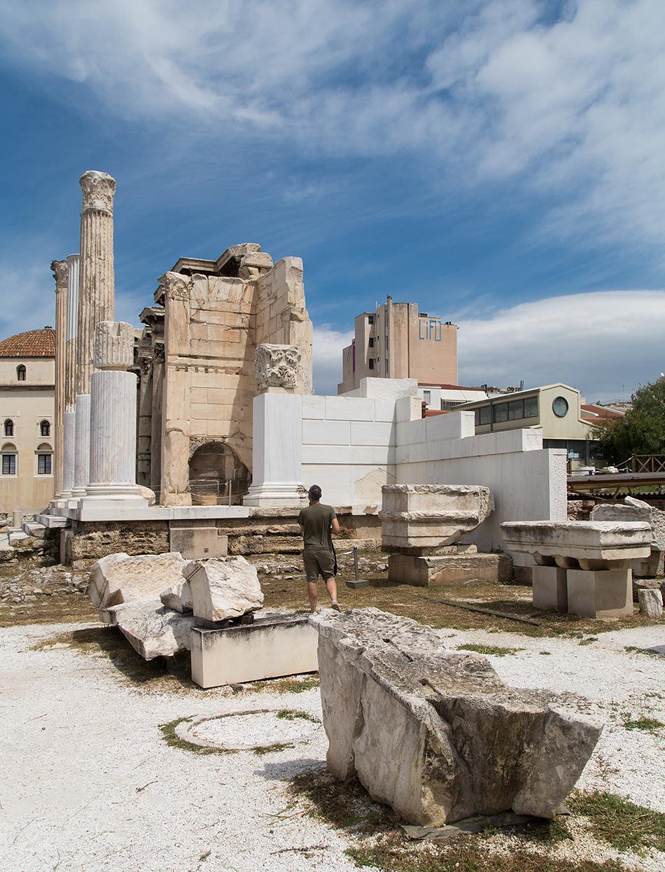 Athen, Hadriansbibliothek, Fabian Fröhlich