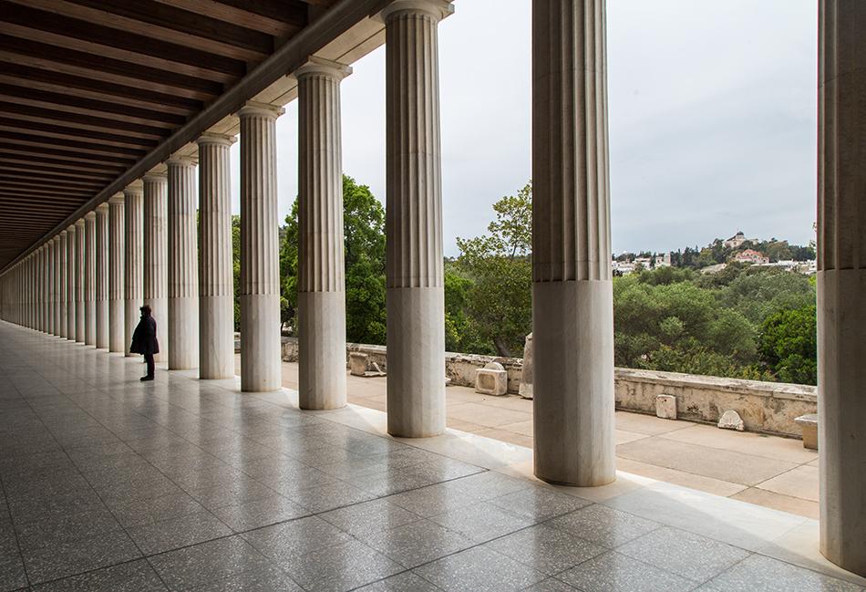 Athen, Stoa des Attalos, Fabian Fröhlich