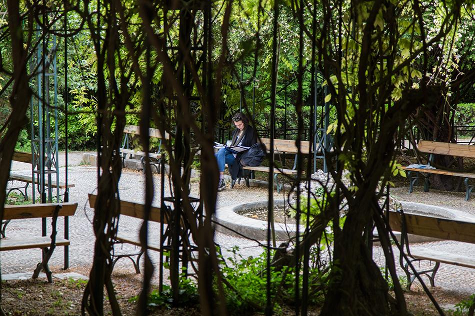 Fabian Fröhlich, Athen, National garden
