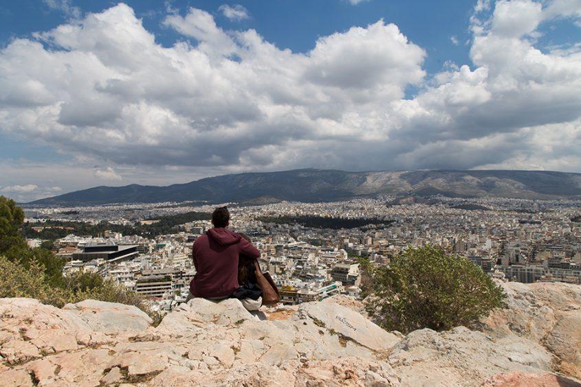 Athen, Blick vom Filopappu-Hügel, Fabian Fröhlich