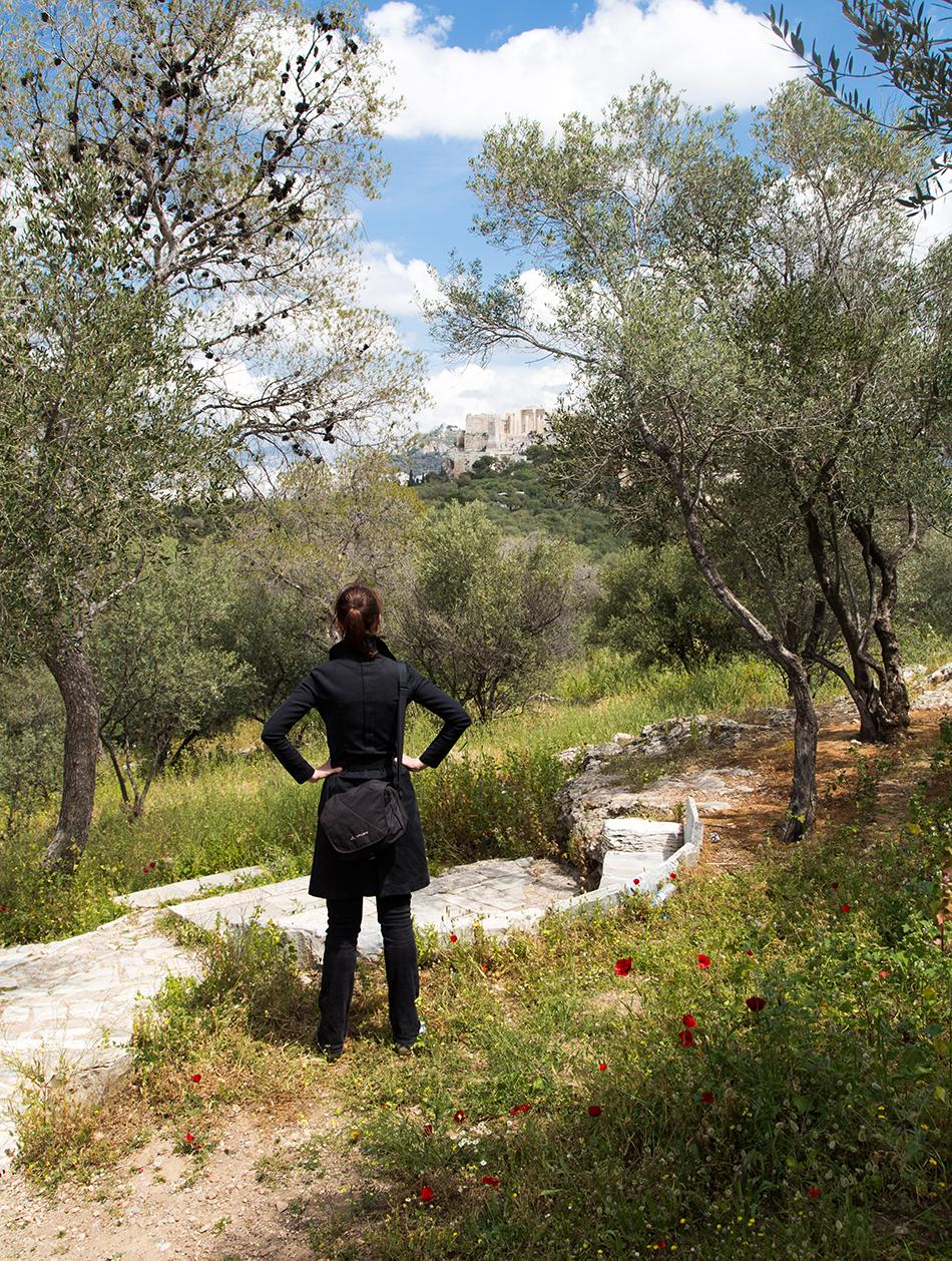 Athen, Blick vom Filopappu-Hügel zur Akropolis, Fabian Fröhlich