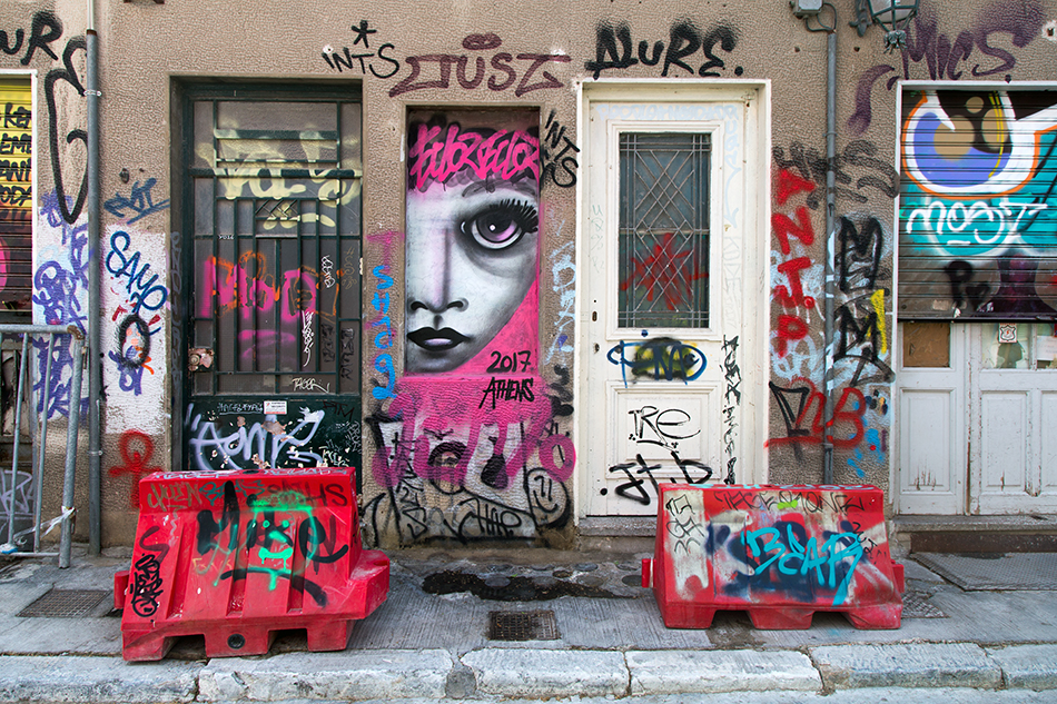 Athen, Plaka, Graffiti, Street Art, Fabian Fröhlich