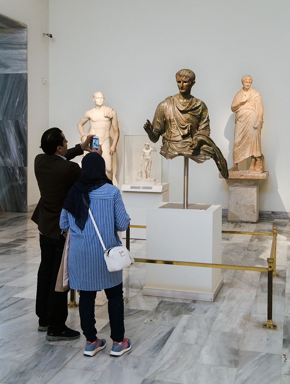 Fabian Fröhlich, National Archaeological Museum of Athens, Statue of the Emperor Augustus