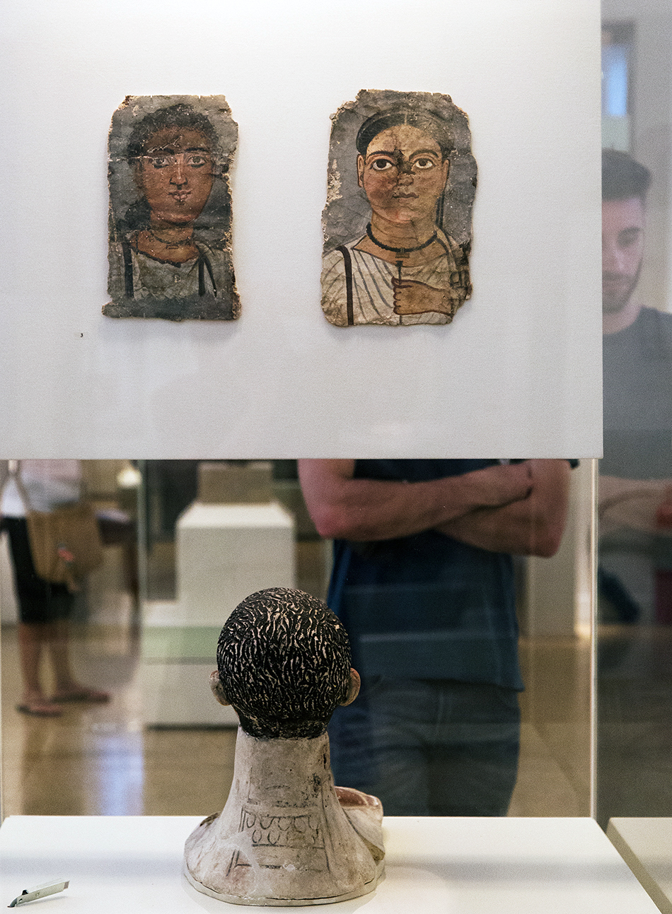 Fabian Fröhlich, National Archaeological Museum of Athens, Egyptian Mummy Portraits
