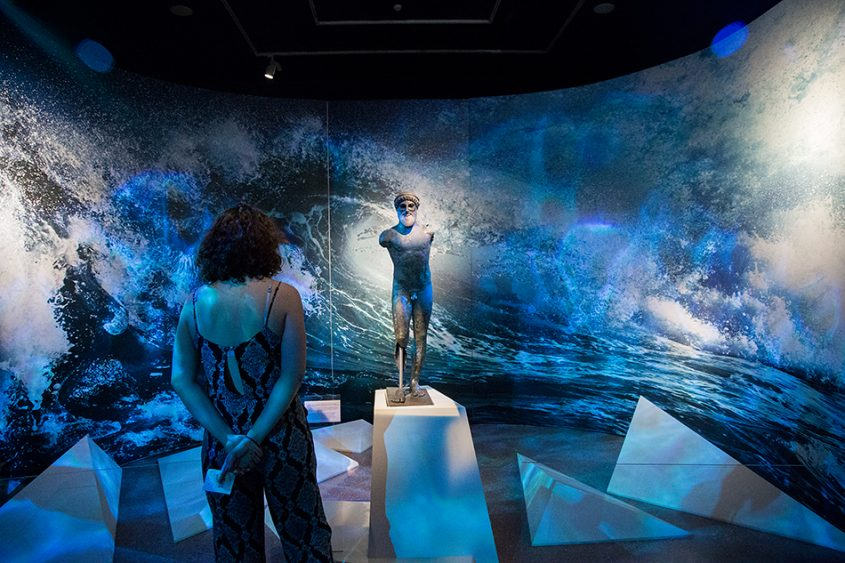 Fabian Fröhlich, National Archaeological Museum of Athens, Ulysses Exhibition, Poseidon