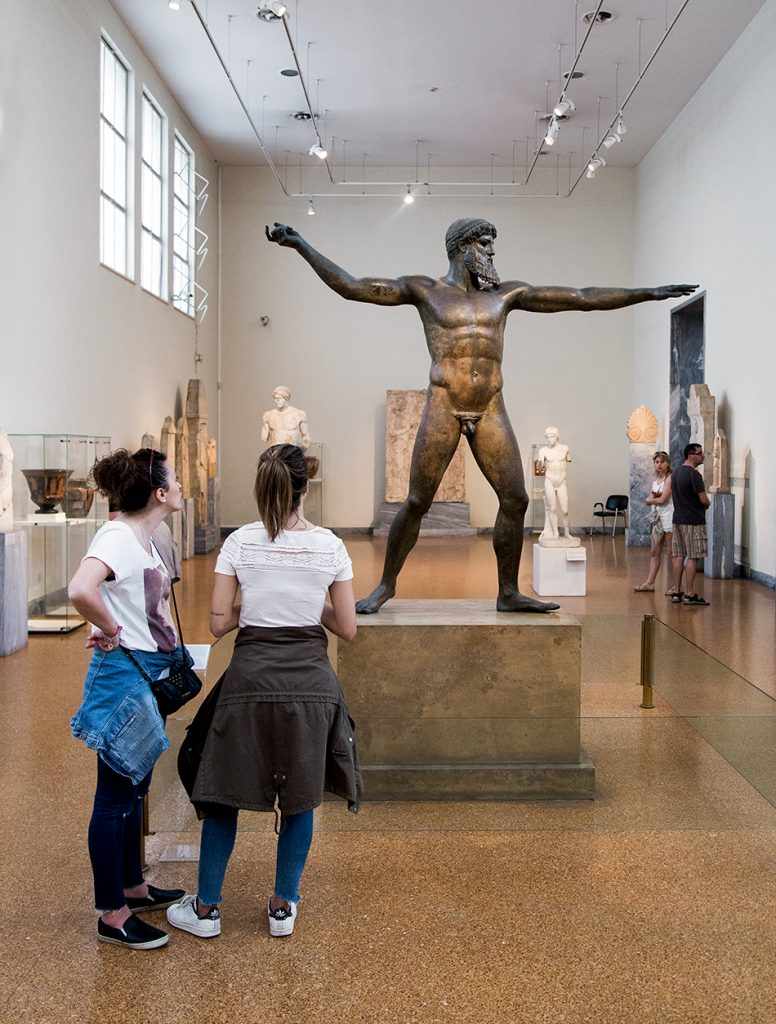 Fabian Fröhlich, National Archaeological Museum of Athens, Artemision Bronze (Statue of Zeus or Poseidon)