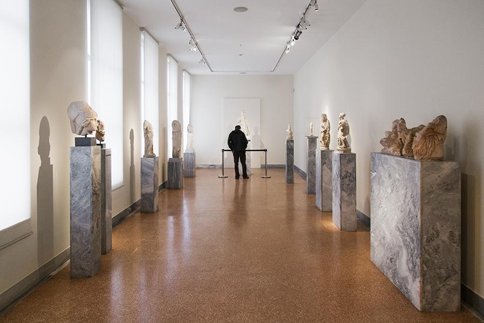 Fabian Fröhlich, National Archaeological Museum of Athens,  Varvakeion Athena