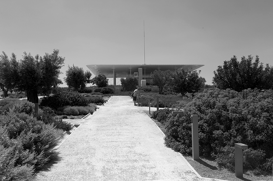 Athen, Lighthouse, Stavros Niarchos Foundation Cultural Center von Renzo Piano