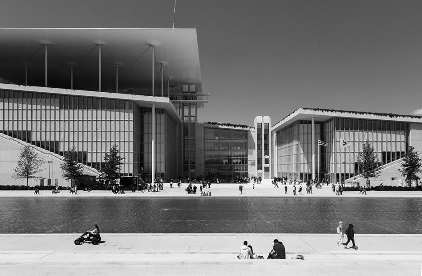 Athen, Stavros Niarchos Foundation Cultural Center von Renzo Piano
