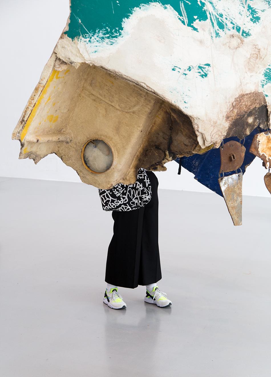 Fabian Fröhlich, documenta 14, Kassel, Guillermo Galindo, Fluchtzieleuropahavarieschallkörper