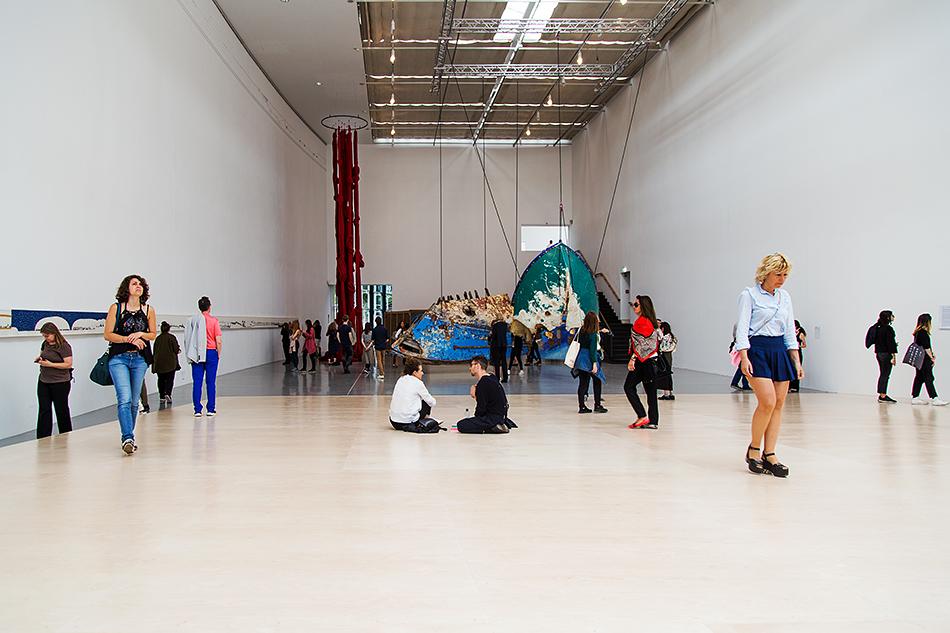 Fabian Fröhlich, documenta 14, Kassel, Great Hall, installation view