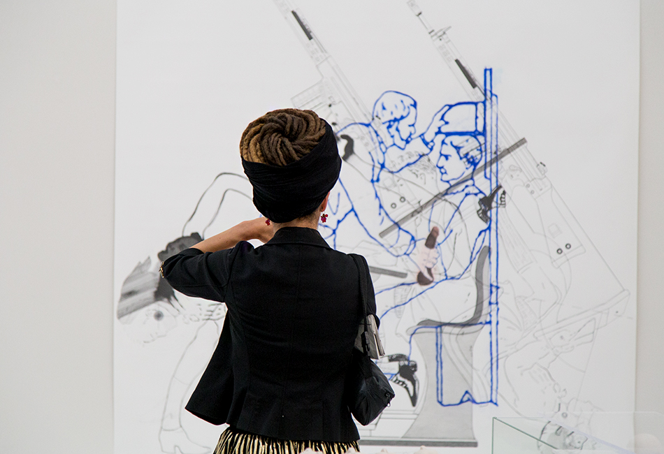 Fabian Fröhlich, documenta 14, Kassel, Sergio Zevallos, A War Machine, Neue Galerie