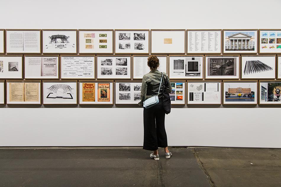 Fabian Fröhlich, Kassel, documenta 14, Neue Hauptpost, Daniel García Andújar, The Disasters of War/Trojan Horse