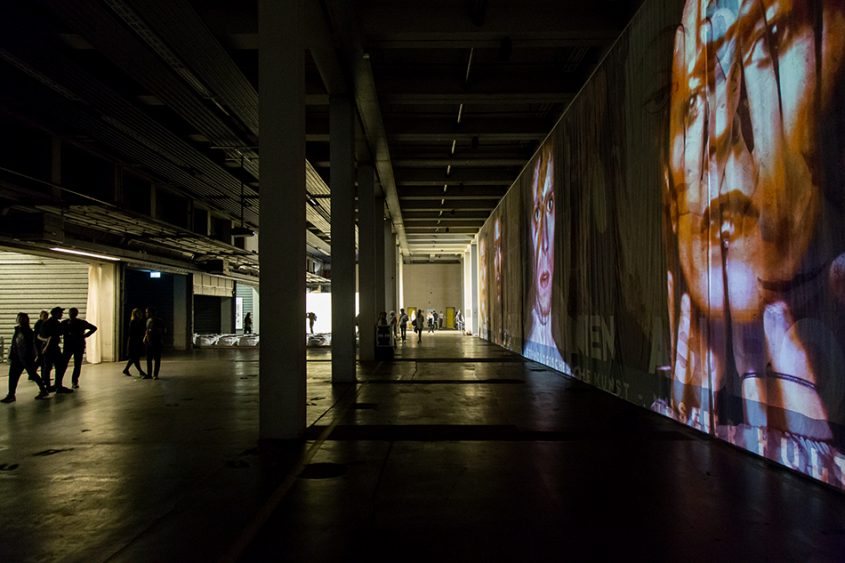 Fabian Fröhlich, Kassel, documenta 14, Neue Hauptpost, Theo Eshetu, Atlas Fractured