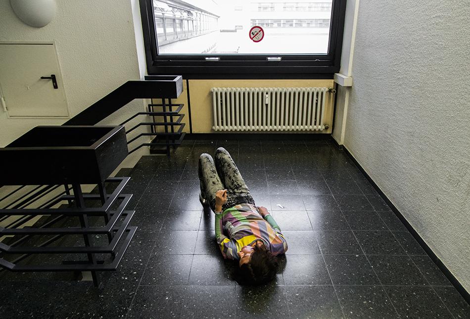 Fabian Fröhlich, Kassel, documenta 14, Neue Hauptpost, Maria Hassabi, STAGING: Solo