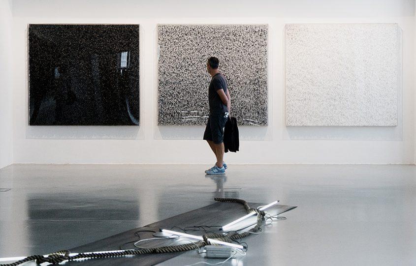 Fabian Fröhlich, documenta 14, Kassel, Fridericianum, EMST, Yiannis Bouteas, Untitled; Pavlos Dionysopoulos, Bolduc