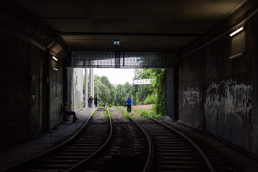 Fabian Fröhlich, documenta 14, Kassel, Zafos Xagoraris, The Welcoming Gate (Former Underground Train Station)